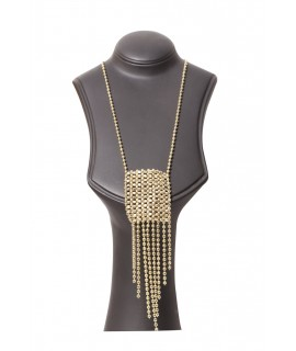 women gold fancy necklaces
