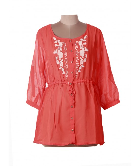 Women Cheap Embroidery Top