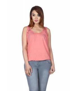 women Lace Basic Top