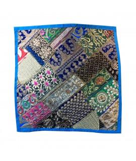 jaipuri embriodery cushion cover
