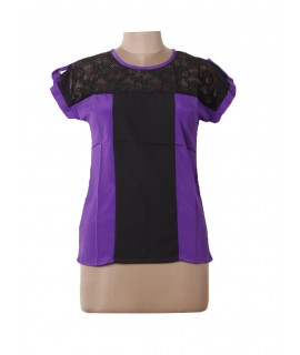women black net top