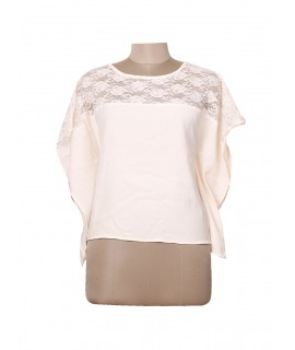 women butterfly net top