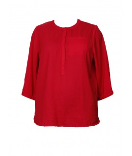 women red solid top