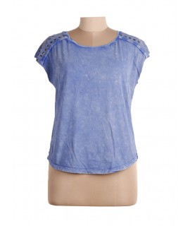 women solid top