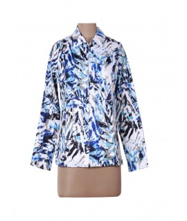 women printed jacket