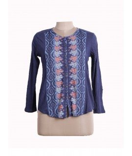 women printed shirt top