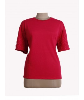 women round neck top
