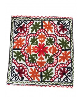 Kashmiri Hand Embroidered Cushion