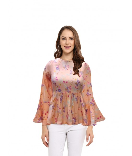 women frill top