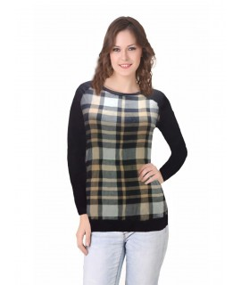 women striped top