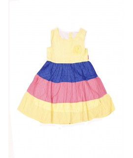 Kids Colorful Cotton Frock