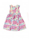 Kids Butterfuly Print Frock